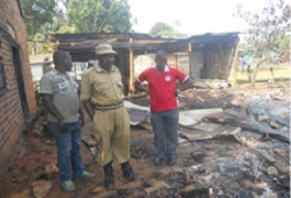Fire destroys homes and properties in Kitobo fishing village, Kalangalala District